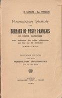 Nomenclature Générale Des Bureaux De Poste Français De 1849 à 1876 - Philately And Postal History