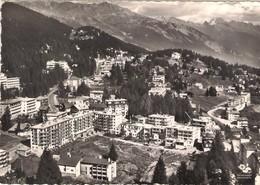SUISSE (VALAIS). CRANS-MONTANA. VUE AERIENNE. 1963. - VS Valais