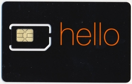 BOTSWANA GSM (SIM) CHIP CARD ORANGE MINT UNUSED - Botswana