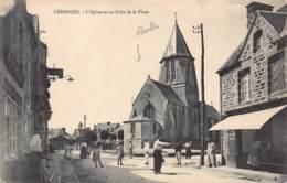 50 - MANCHE - CERENCES - 10047 - église Et Coin De Place - Blainville Sur Mer