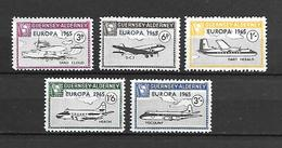 Guernsey - Alderney 1965 Airplanes - Europa  MNH - Sonstige