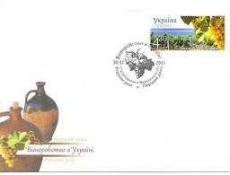 Ukraine 2011 MiNr. 1094 Wine Growing III , Grape Aligoté FDC  2.60 € - Ukraine