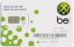BOTSWANA GSM (SIM) CHIP CARD MOBILE BE MINT UNUSED - Botswana
