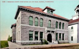 Washington Olympia Thurston County Court House And City Hall - Etats-Unis