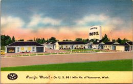 Washington Vancouver Pacific Motel - Vancouver