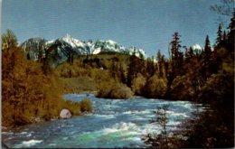 Washington Skyhomis River Union 76 Card 1951 - Etats-Unis