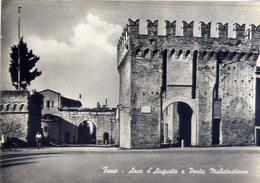 Fano - Arco D'augusto E Porta Malatestiana - Formato Grande Non Viaggiata – E 16 - Fano