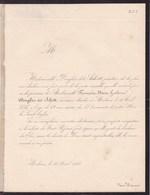 MALINES MECHELEN Françoise DOUGLAS Dit SCHOTT 62 Ans 1847 - Obituary Notices
