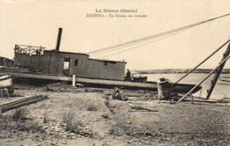 MAROC  KENITRA  Un Bateau Au Chantier     ...... - Autres