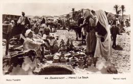 MAROC  OUARZAZATE  Le Souk  ..... - Maroc
