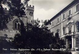 Fano - Palazzo Malatestiano E Palazzo Montevecchi - Formato Grande Non Viaggiata – E 16 - Fano