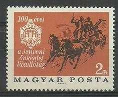 Hungary 1966 Mi 2254 MNH ( ZE4 HNG2254 ) - Horses