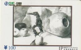CHINA. BIRD DRAWING. 2004-12-31. TJ-IP-31(4-3). (1135). - China