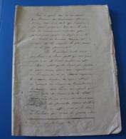 """MONIEUX 1871-Manuscrit Document Historique-Qui Connait Le Mot De Danton""""Paroles Du Citoyen""""Nous Voulons L'égalité Réelle - Other Collections"""