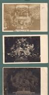 Moresnet - Lot De 7 Photos Cartes(agfa Et Baltus Calamine)  De La Crèche De Noel (1934-35-47-58-et 3 Dates Inconnues) - Plombières