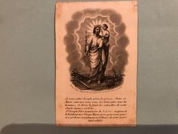 Dame Marie De Gheus De Ten Dale *1755 Ieper +1844 Tournai Doornik Veuve Du Bois Baron De Harnes Voormezele De Tronzon - Obituary Notices