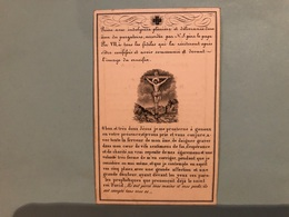 Dewaide Anne Marie Veuve Renard Jean Martin *1765 Petit Rechain Verviers +1844 Liege Fille De Jean Et Lepourceaux Mari - Obituary Notices