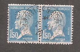 Perfin/perforé/lochung France No 181 BP Banque De Paris Et Des Pays Bas (143) - Perfins