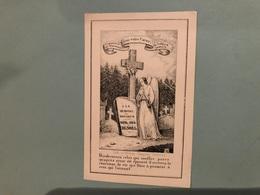 Carte Porcelaine Denoel Guillaume Joseph *1807 Verviers Pâtissier +5/11/1849 Verviers Célibataire Fils Jacques & Grenesc - Obituary Notices