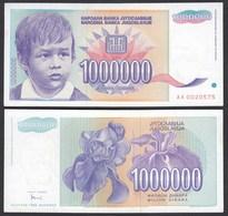 Jugoslawien - Yugoslavia 1 Million Dinara 1993 Pick 120 UNC (1)    (26440 - Joegoslavië