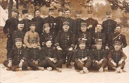 Carte Photo Militaire Français CHALONS SUR MARNE 106 ème Régiment Infanterie Groupe Officiers + Un Officier Chinois Asie - Régiments