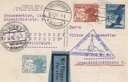 Autriche - Zeppelin - Carte Oblitérée 12/07/1931 - Autriche/Argentine - Zeppelines