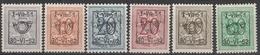 Preo Serie Nr 41 Pre 614/ 619 ** 1951 - Precancels