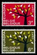 BELGIEN 1962 Nr 1282-1283 Postfrisch SA314AA - Bélgica