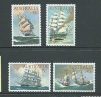Australia 1984 Clipper Ships Set Of 4 MNH - 1980-89 Elizabeth II