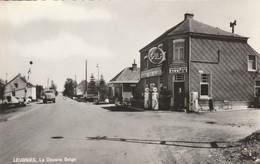 Leugnies ,( Beaumont ) La Douane Belge ,(café , Pub Bière Des Alliés , Bier , Brouwerij , Brasserie ) + Gulf - Beaumont