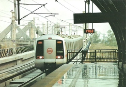 UNDERGROUND * SUBWAY * METRO * RAIL * RAILWAY * RAILROAD * TRAIN * DELHI * INDIA * INDIAN * Top Card 0286 * Hungary - Métro