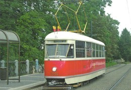 TRAM * NOSTALGIA TRAMWAY * RAIL * RAILWAY * RAILROAD * TATRA * DPP * PRAGUE * CZECH REPUBLIC * Top Card 0453 * Hungary - Tramways