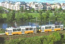 TRAM * TRAMWAY * RAIL * RAILWAY * RAILROAD * TATRA * BKV * KAMARAERDO * BUDAPEST * Top Card 0477 * Hungary - Tramways
