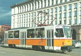 TRAM * TRAMWAY * RAIL * RAILWAY * RAILROAD * TATRA * SOFIA * BULGARIA * BULGARIAN * Top Card 0487 * Hungary - Tramways