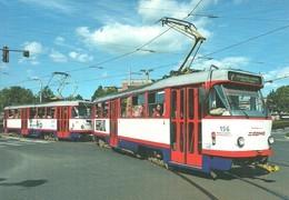 TRAM * TRAMWAY * RAIL * RAILWAY * RAILROAD * TATRA * DPMO * OLOMOUC * CZECH REPUBLIC * Top Card 0491 * Hungary - Tramways
