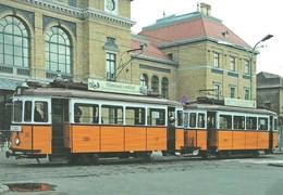 TRAM * NOSTALGIA TRAMWAY * RAIL * RAILWAY * RAILROAD * TRAIN STATION * TATRA * SZKT * SZEGED * Top Card 0496 * Hungary - Tramways