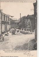 Souvenir Du Goûter Monstre D'Ecaussines - Lalaing Le 1er Juin 1903 ,tables Pour Jeunes Filles à Marier - Ecaussinnes