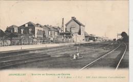 Courcelles , Station De Courcelles-Centre  ,( Intérieur  Gare , Statie ) - Courcelles
