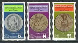 Mauritania - 1979 - ( UNESCO - Buddha ) - Complete Set - MNH (**) - Mauritania (1960-...)