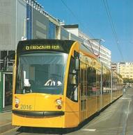 TRAM * TRAMWAY * RAIL * RAILWAY * RAILROAD * SIEMENS COMBINO * BKV * BUDAPEST MOSZKVA SQUARE * Top Card 0215 3 * Hungary - Tramways