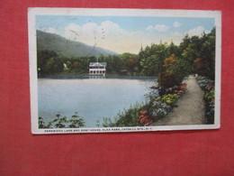 - New York >  Fernwood Lake & Boat House Elka Park Catskills >    Ref 4112 - Catskills