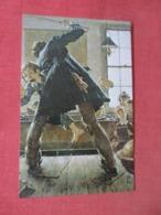 Tom Sawyer  Getting Thrasing By Schoolmaster     Ref 4113 - Escuelas