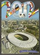 Ukraine 2012 Soccer UEFA EURO Postcard III Stadium Kiev  Mint - Ukraine
