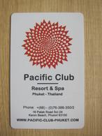 Pacific Club Resort& Spa Phuket Thailand - Hotelkarten