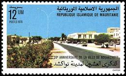 Mauritania - 1978 - ( 20th Anniversary Of Nouakchott ) - MNH (**) - Mauritania (1960-...)