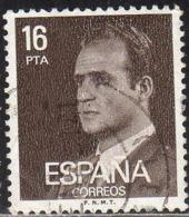 Espagne Poste Obl Yv:2204 Mi:2450x Ed:2558 Juan-Carlos Ier Profil (Beau Cachet Rond) - 1971-80 Usados