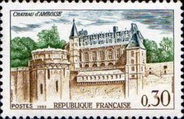 France Poste N** Yv:1390 Mi:1444 Château D'Amboise - France