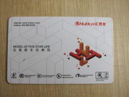 Hutlon, Manufacture Card - Hotelkarten