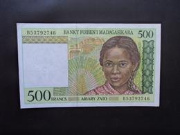 MADAGASCAR * : 500 FRANCS = 100 ARIARY   ND 1994     P 75b      Presque SUP - Madagascar