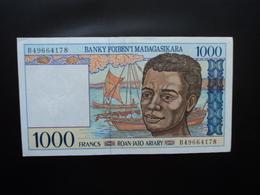 MADAGASCAR * : 1000 FRANCS = 200 ARIARY   ND 1994     P 76b      Presque SUP - Madagascar